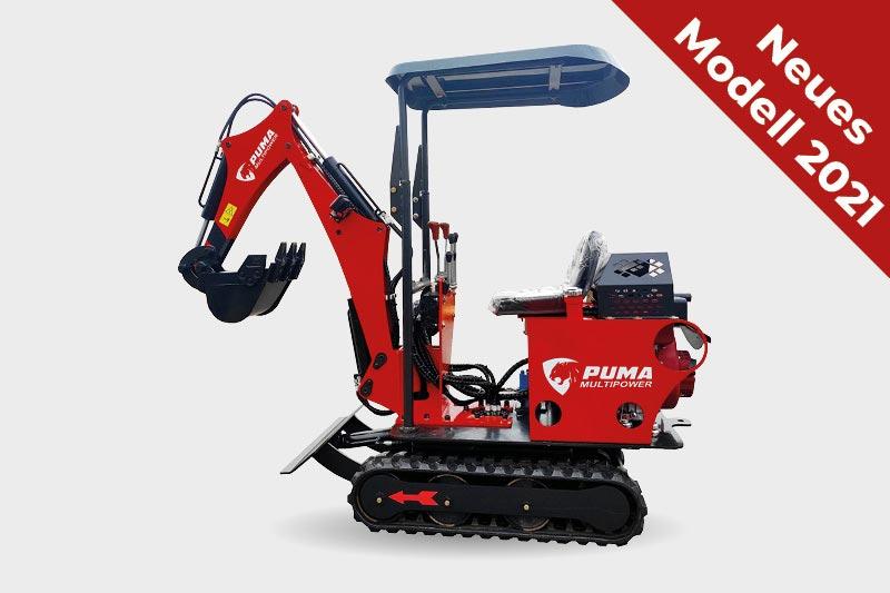 Puma MBL ECO - Minibagger 2021